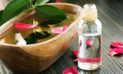 rose essential oil for skin problems